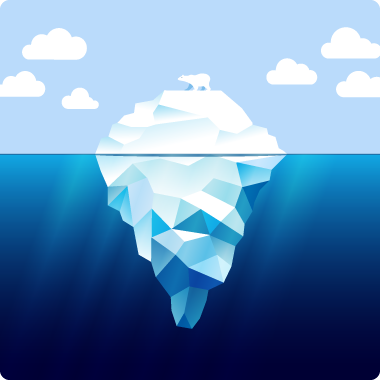 Available for purchase at http://www.istockphoto.com/vector/iceberg ...: tigrey.com/iceberg-and-white-bear.htm