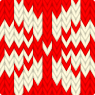 Norwegian knitted pattern - Illustration