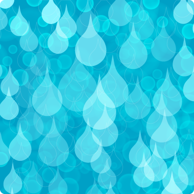 Water drops background - Illustration